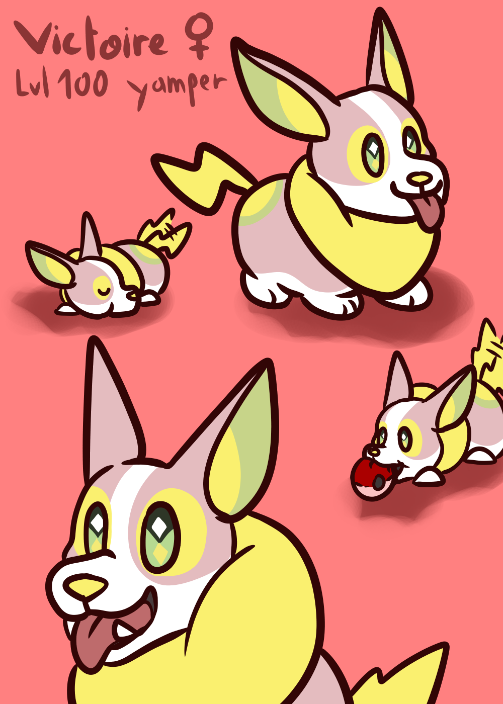 Fwuffy Woofy I literally love this doggo so much i had to give it its shiny. pillowfort