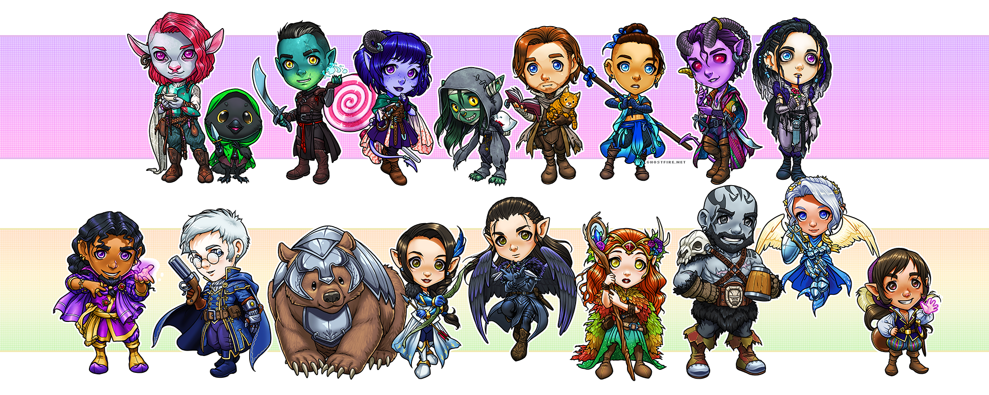Searching For Trinket ~critical role art index~ show doodles (doodles done during live shows, from my twitter) • vox machina campaign: searching for trinket