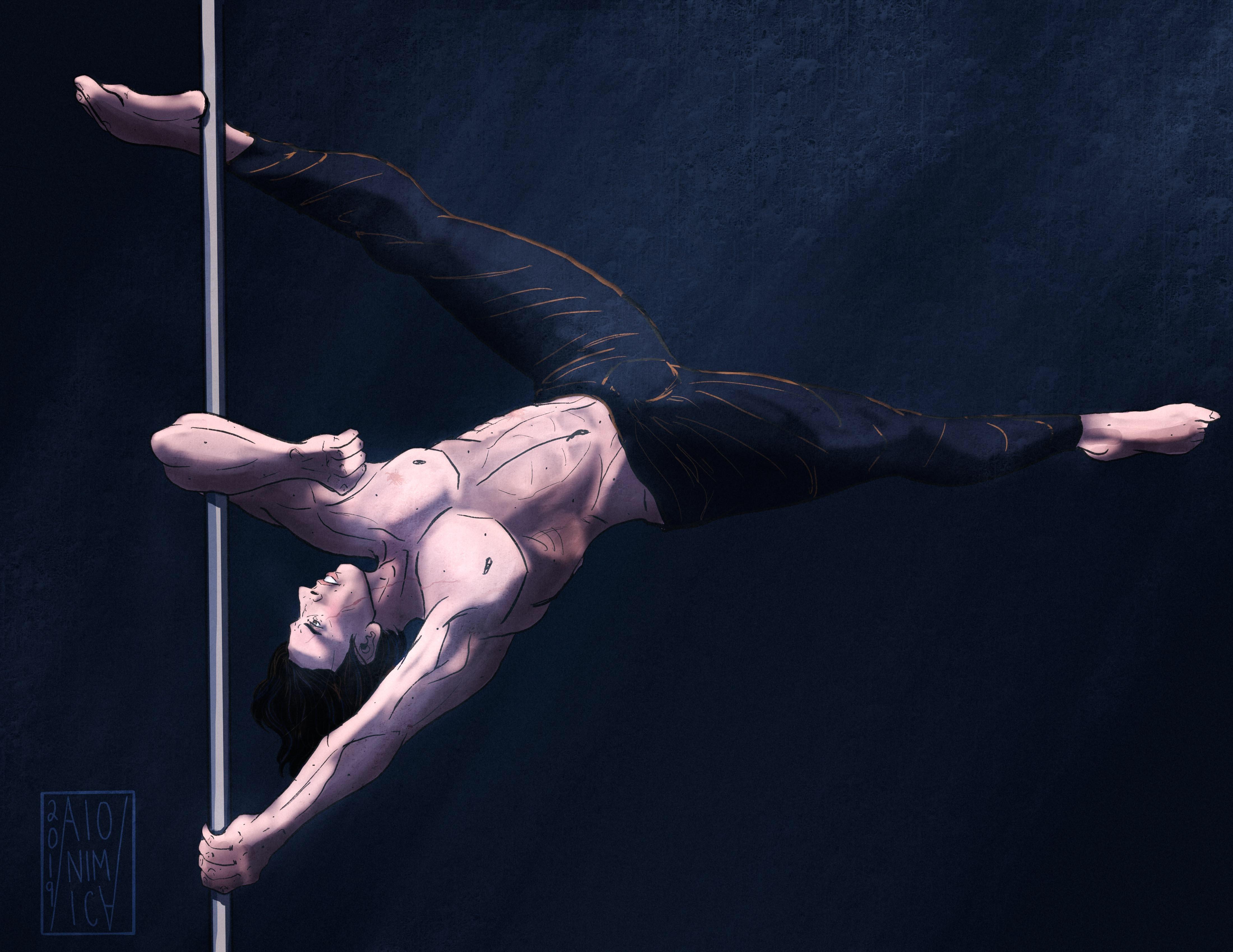 Loki Pole Dancing